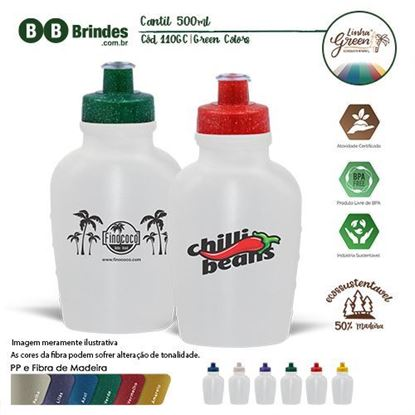Imagem de Cantil 500ml Green Colors