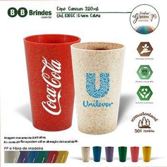 Imagem de Copo Long Drink Eco Green Colors 330ml