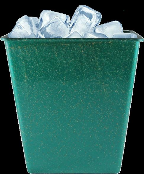 Imagem de Balde de Gelo Retangular 2,6l Green Colors